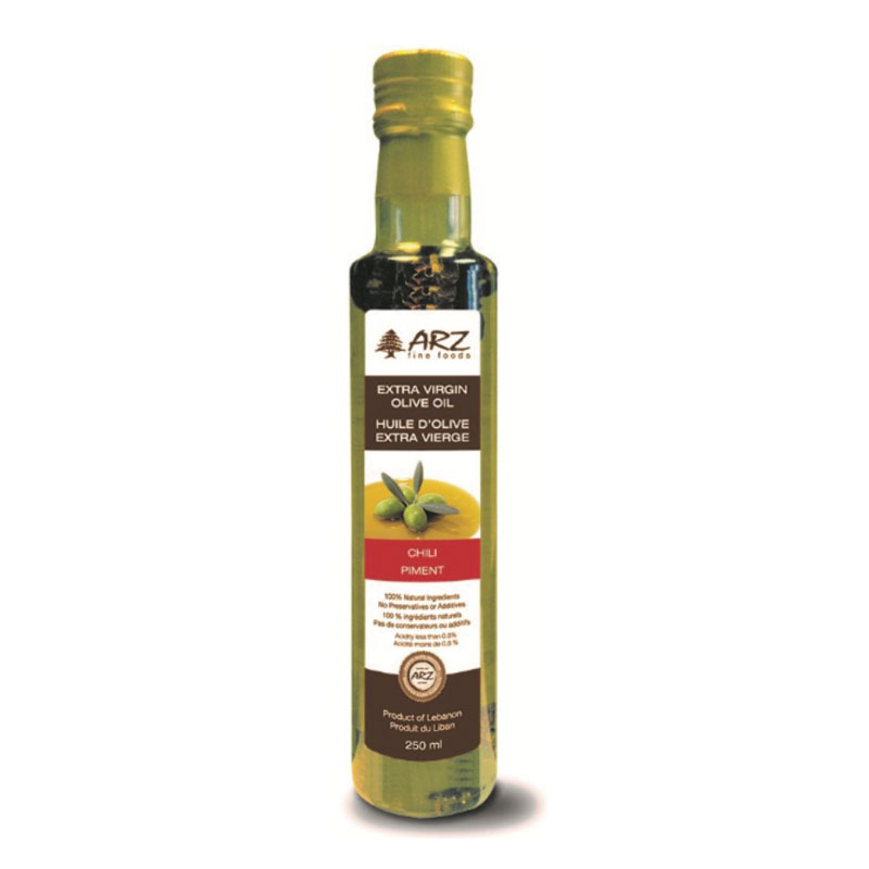 Arz Ext virgin Olive Oil Chili 250ml