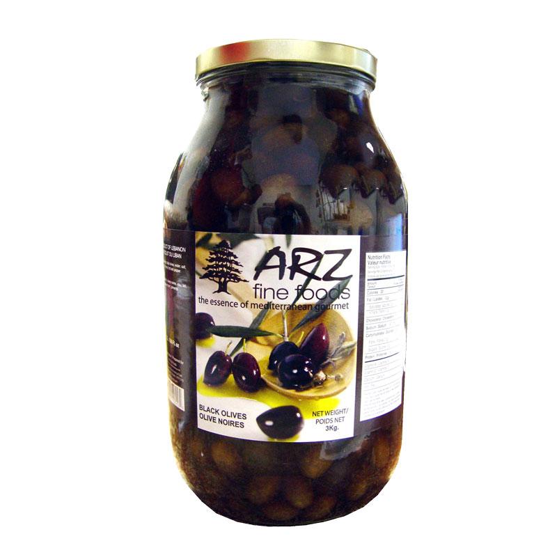 Arz Black Olives 3kg