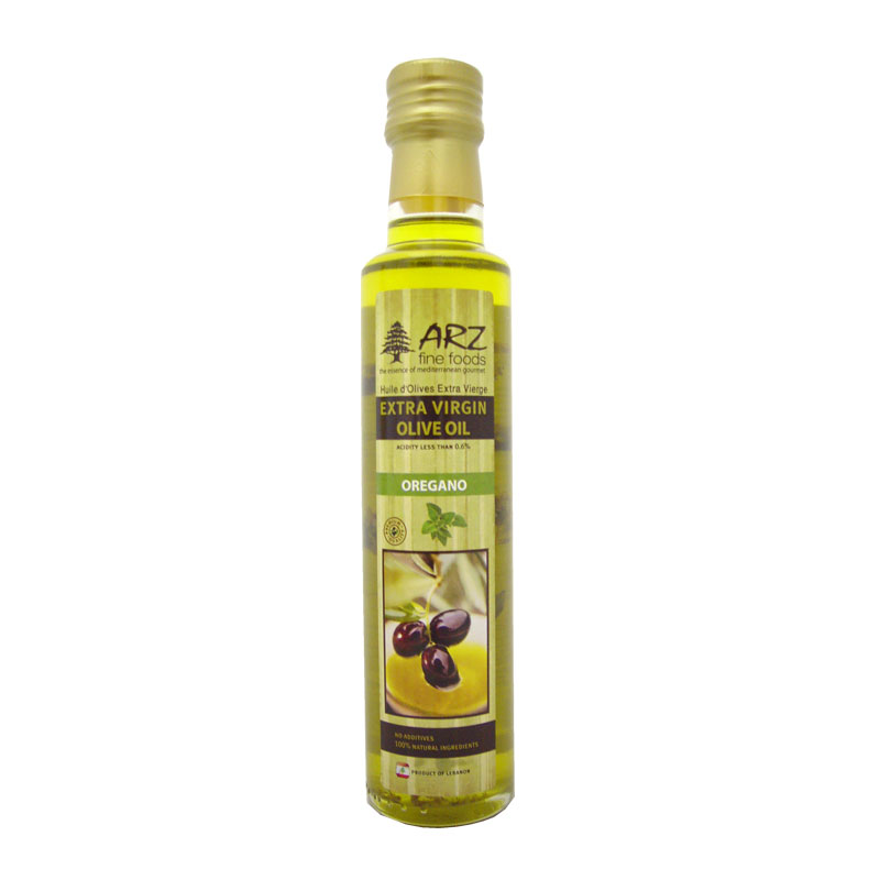 Arz Ext virgin Olive Oil w Oregano 250ml.png
