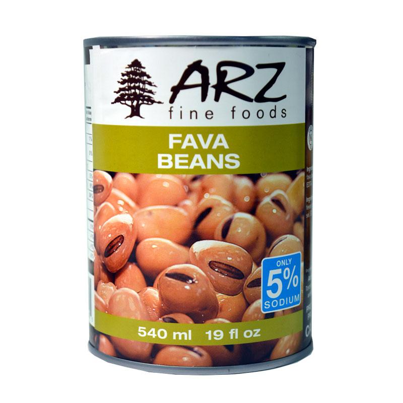 Arz Fava Beans 540ml