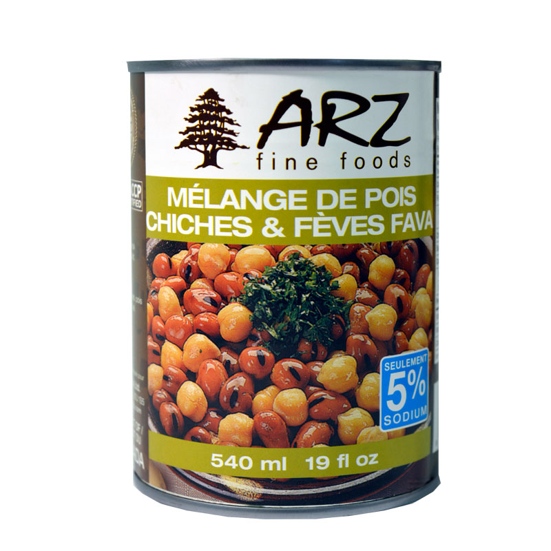 Arz Fava & Chickpeas_540ml