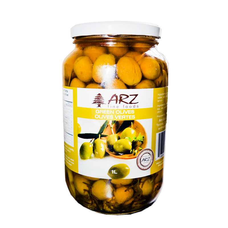 Arz Green Olives-1L