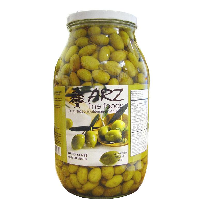 Arz Green Olives 3kg