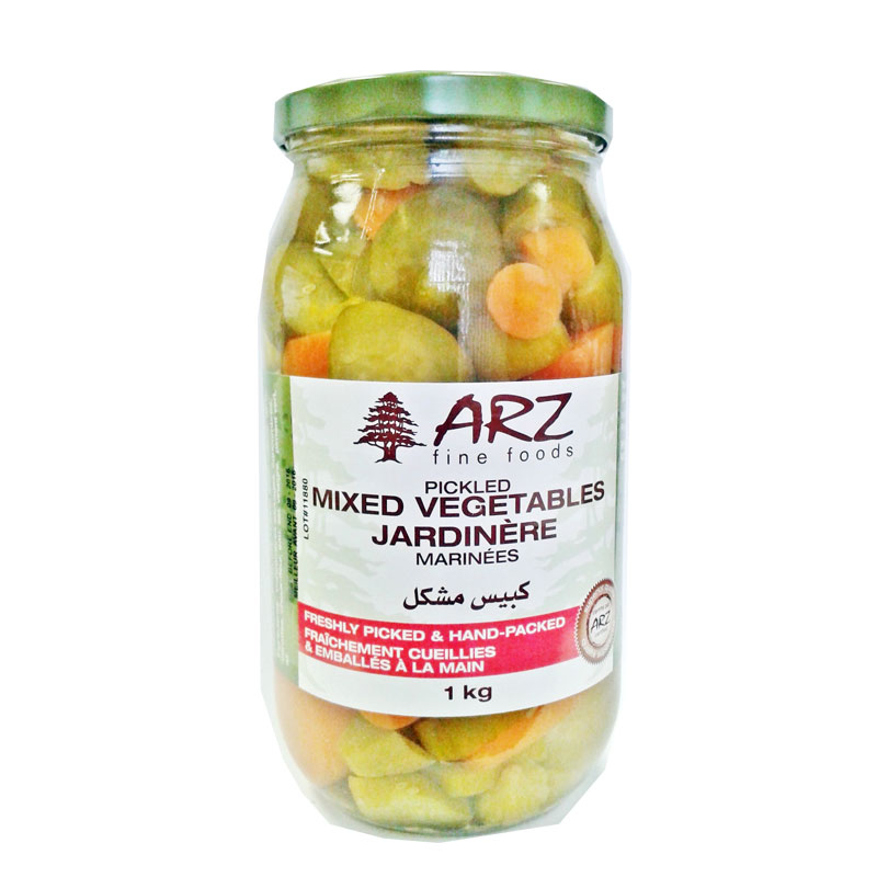 Arz Pickled Mixed Vegetables 1 kg