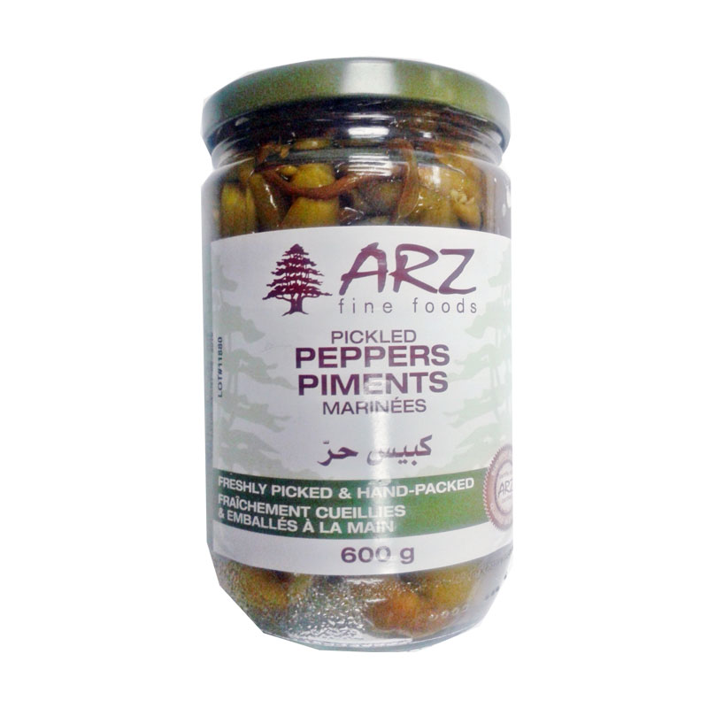 Arz Pickled Peppers 600 g