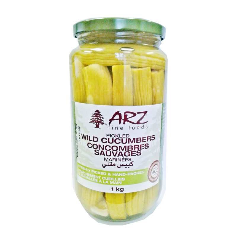 Arz Pickled Wild Cucumbers 1 kg