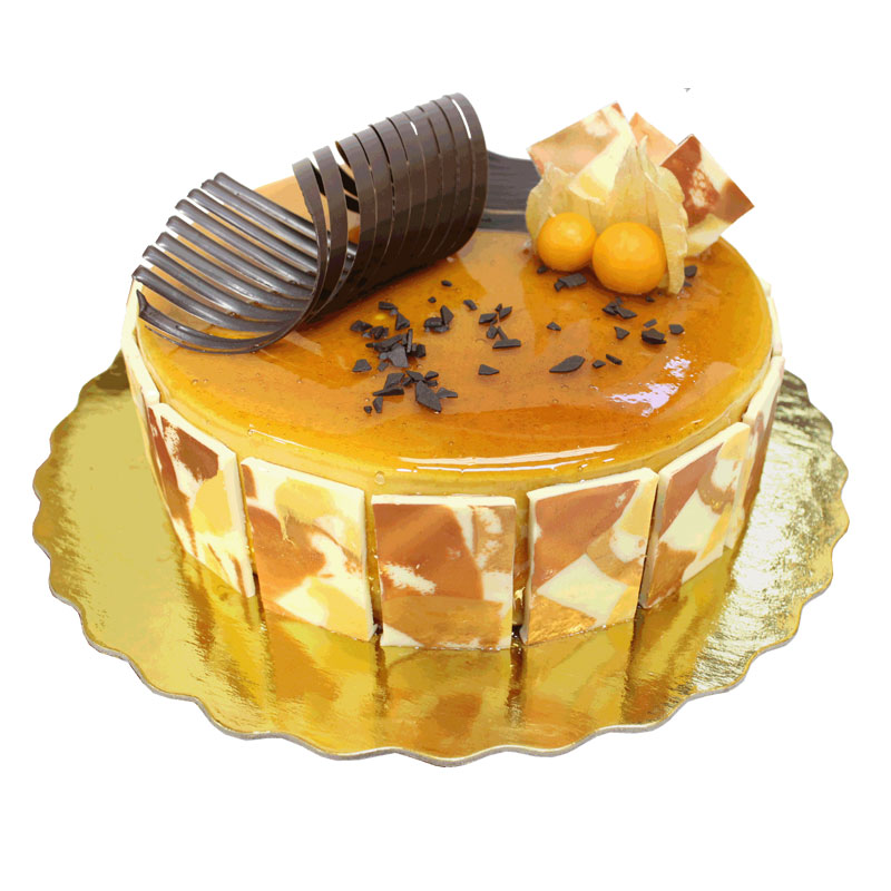 Caramel Mousse 8inch