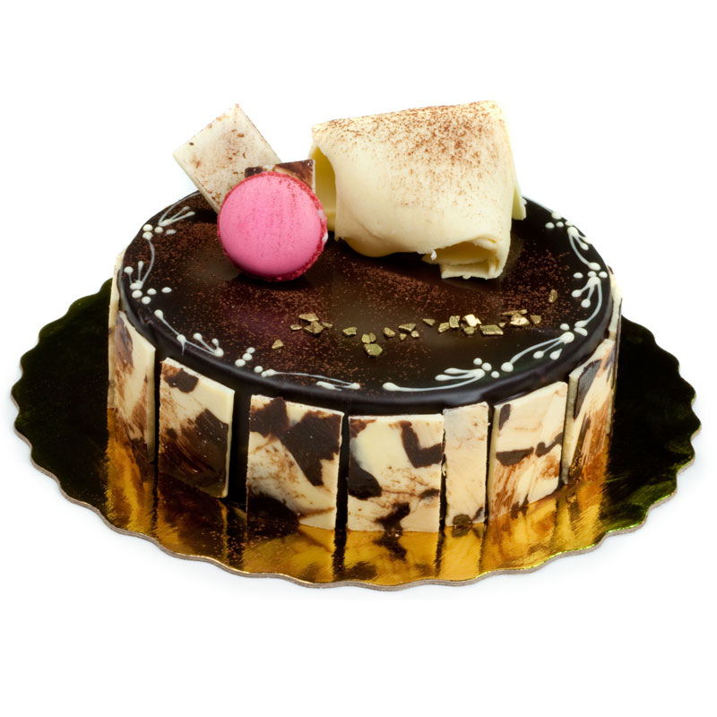 Chocolate-Mousse-Cake