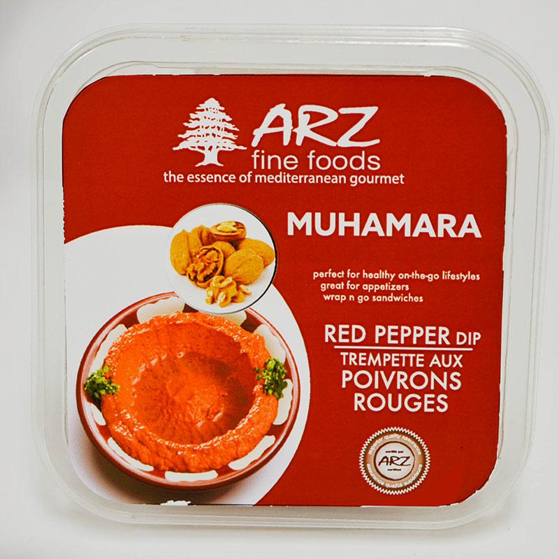 Red Pepper Dips