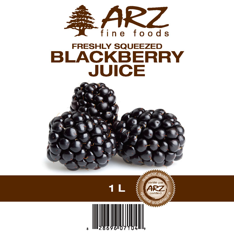 Blackberry Juice 1L