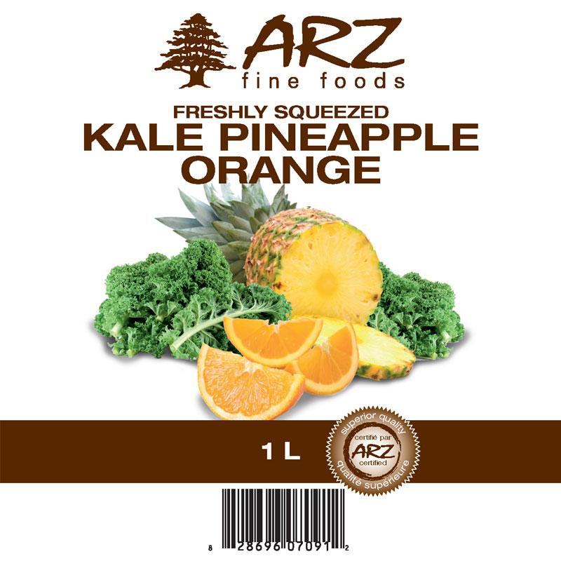 1L_Kale Pineapple Orange Juice