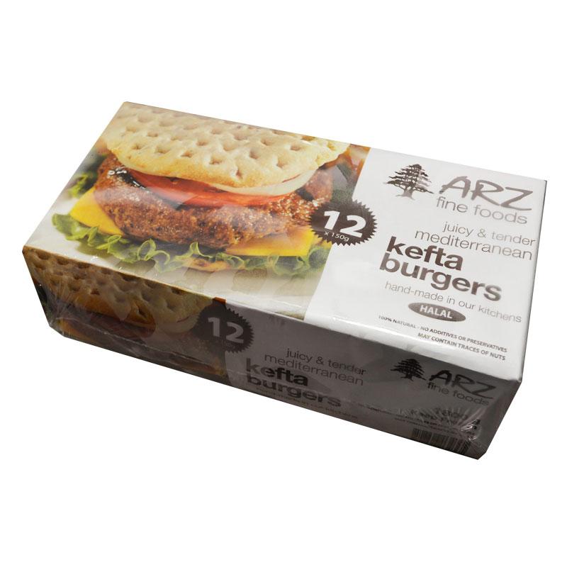 Arz-Kefta-Burgers-12X150-g