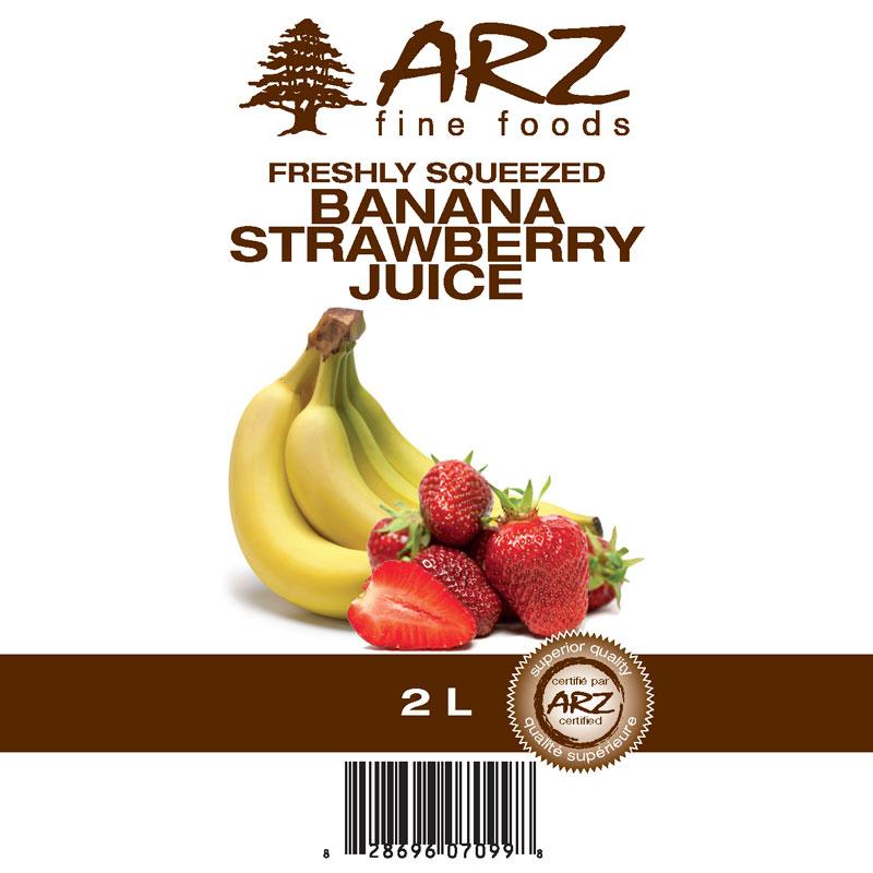 2L_Banana Strawberry juice