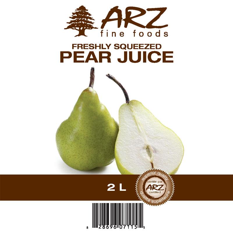 2L_Pear juice