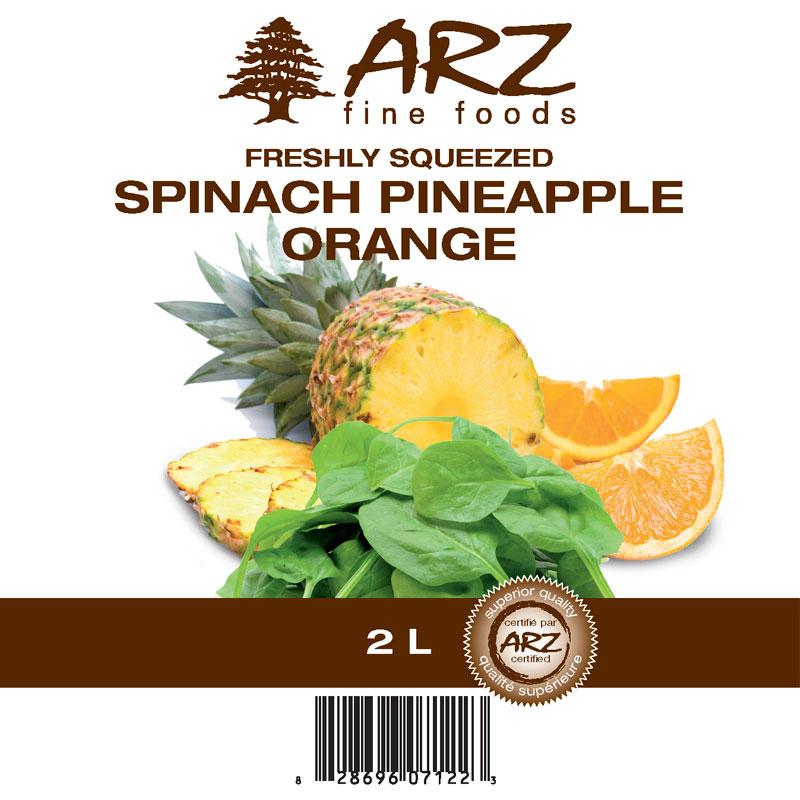 2L_Spinach_Pineapple_Orange juice
