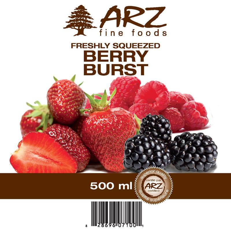 500mL_Berry Burst juice
