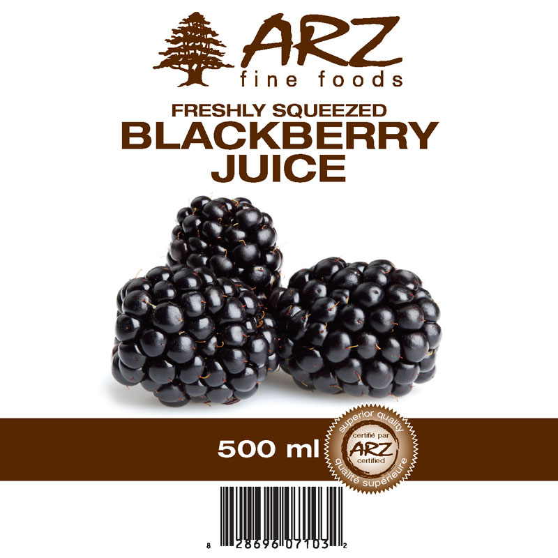 500mL_Blackberry juice