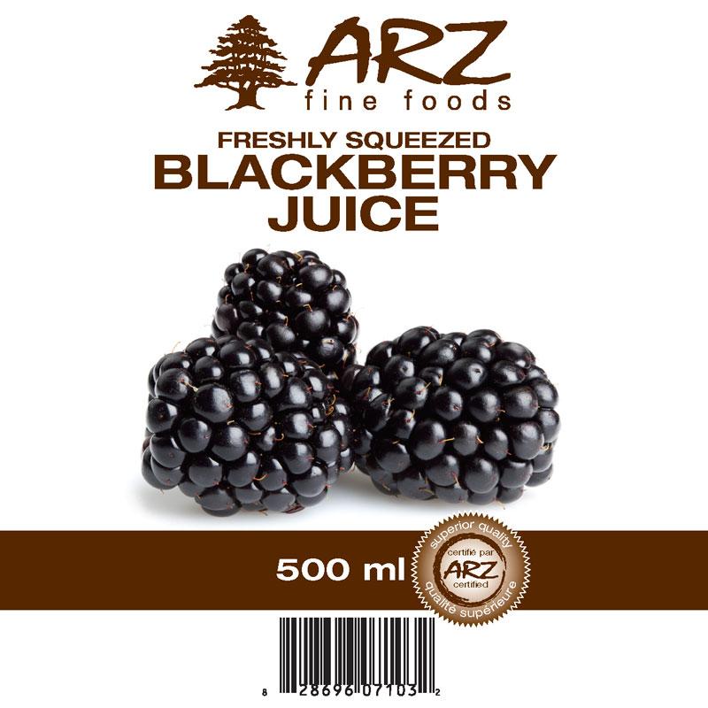 500mL_Blackberry juice
