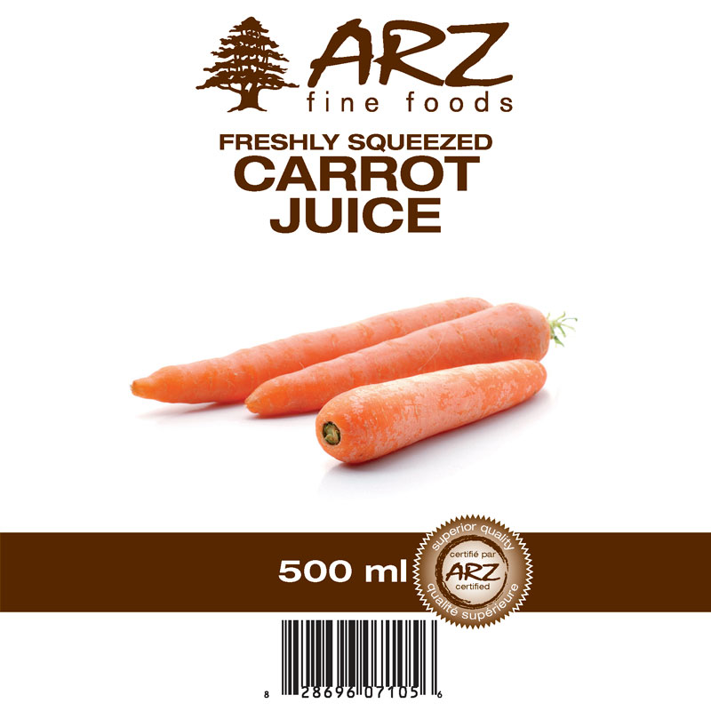 500mL_Carrot juice