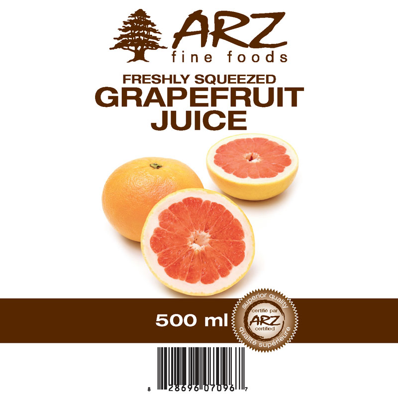 500mL_Grapefruit juice