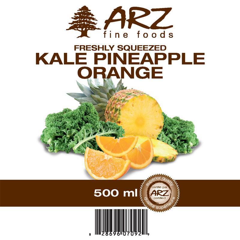 500mL_Kale Pineapple Orange juice