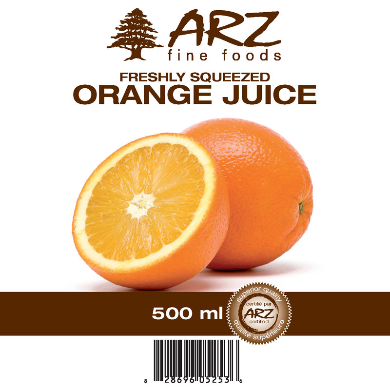 500mL_Orange juice