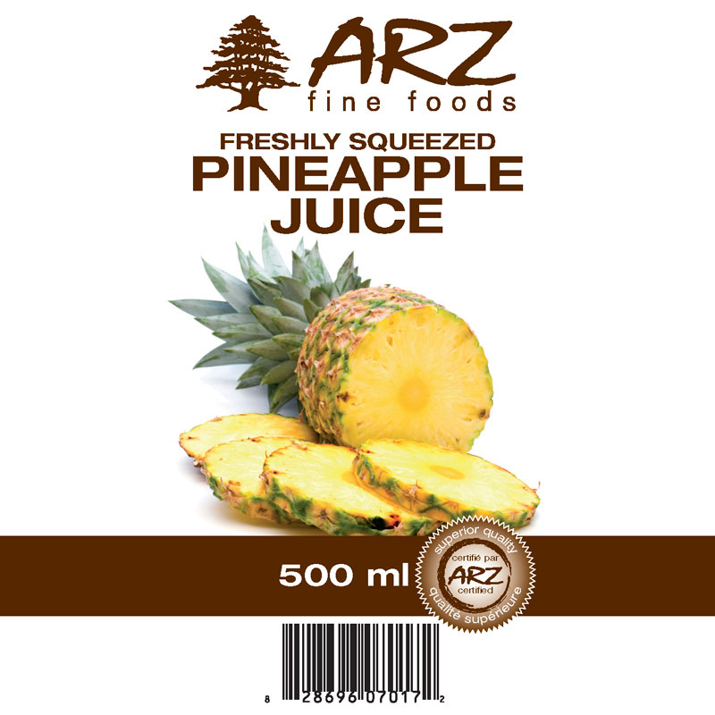 Pineapple 500mL juice