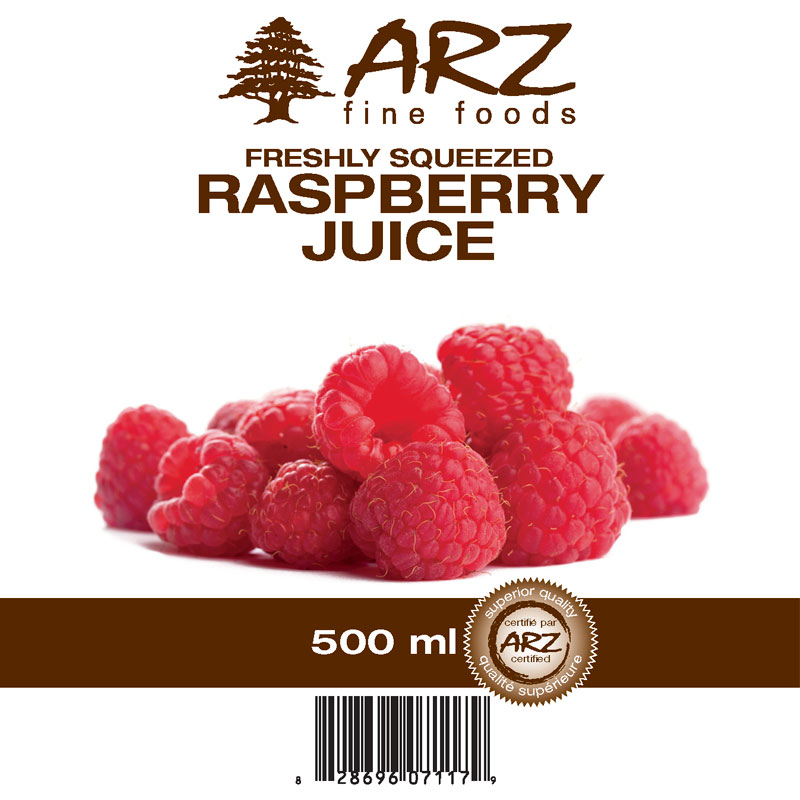 500mL_Raspberry juice