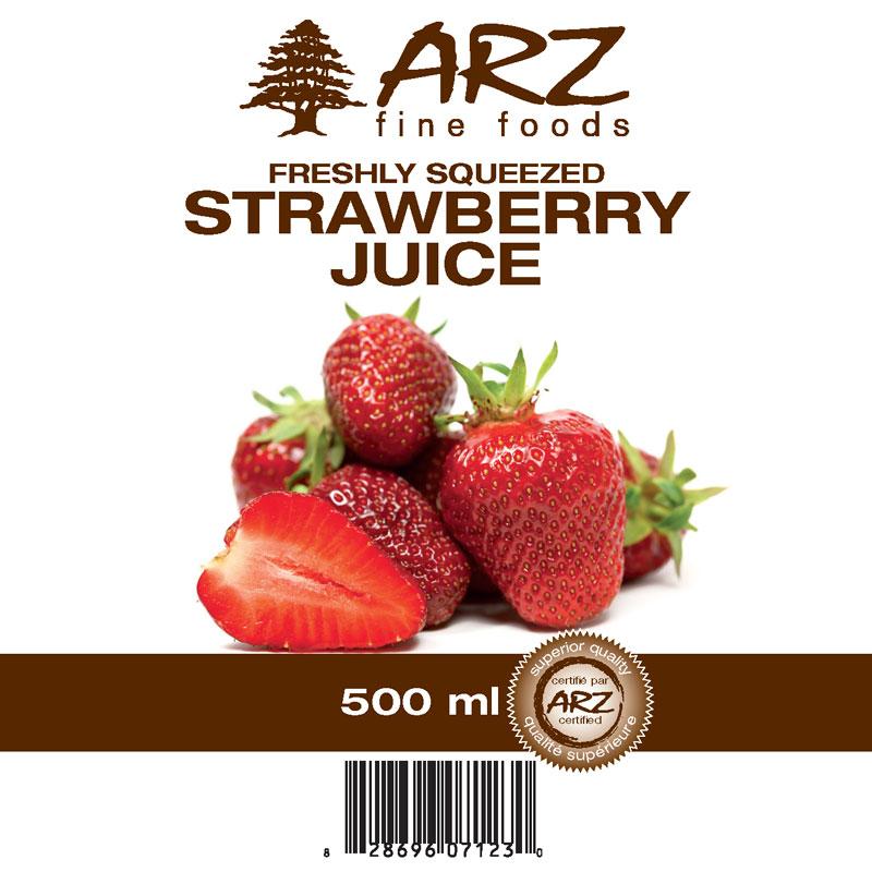 500mL_Strawberry juice