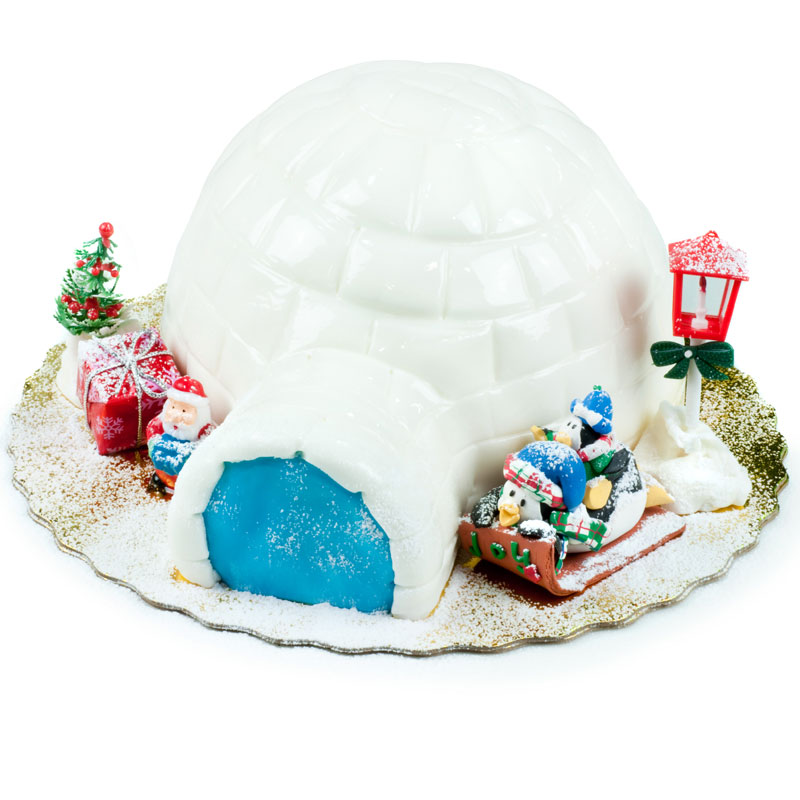 Christmas Cake Igloo